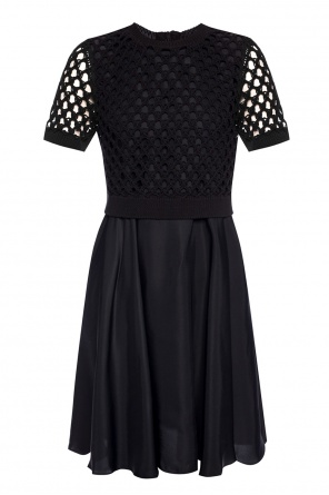 Two-layered ruffled dress od Kenzo