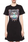 Kenzo Dress with embroidered tiger head