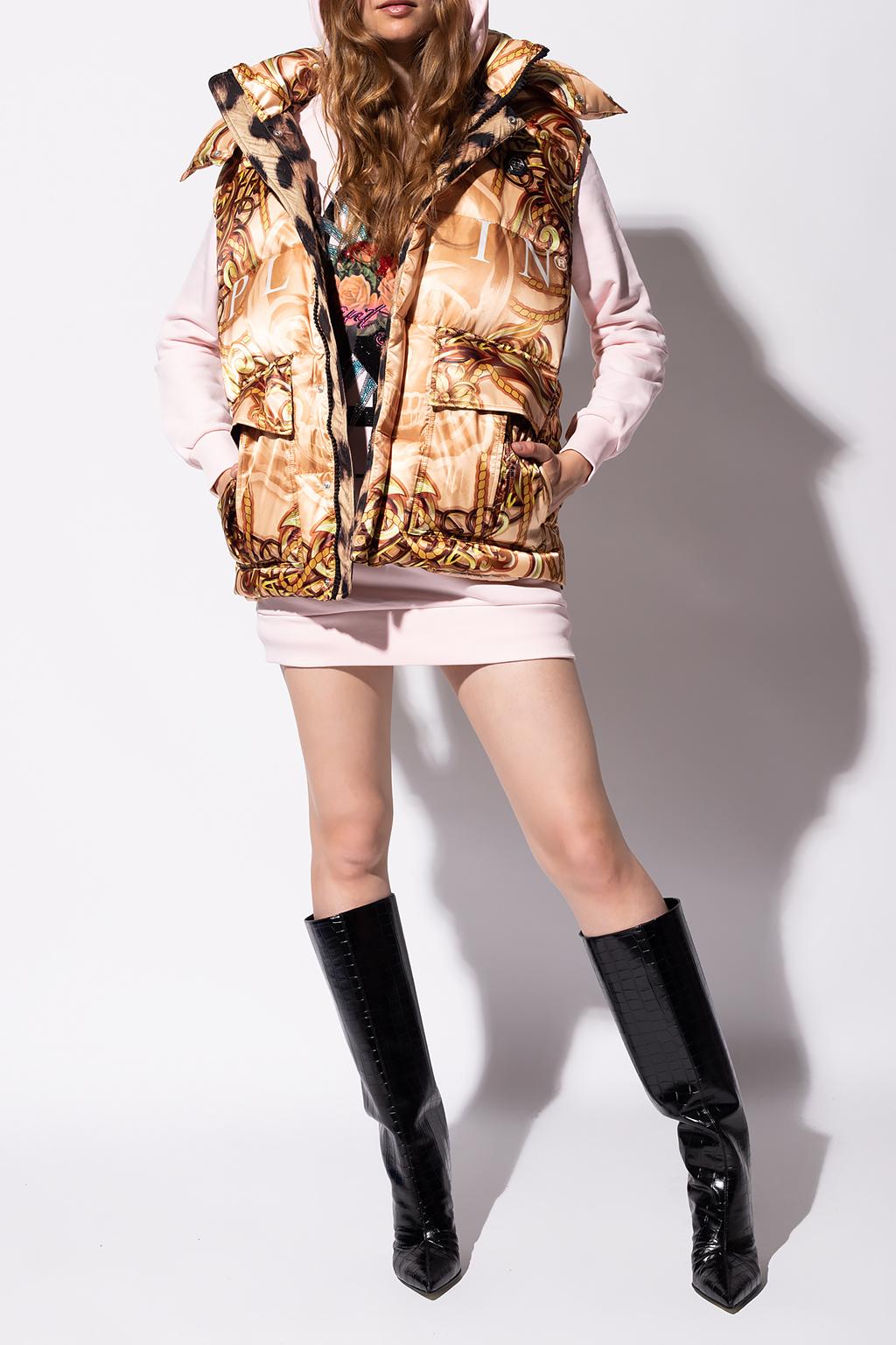 Philipp Plein Sukienka z kapturem