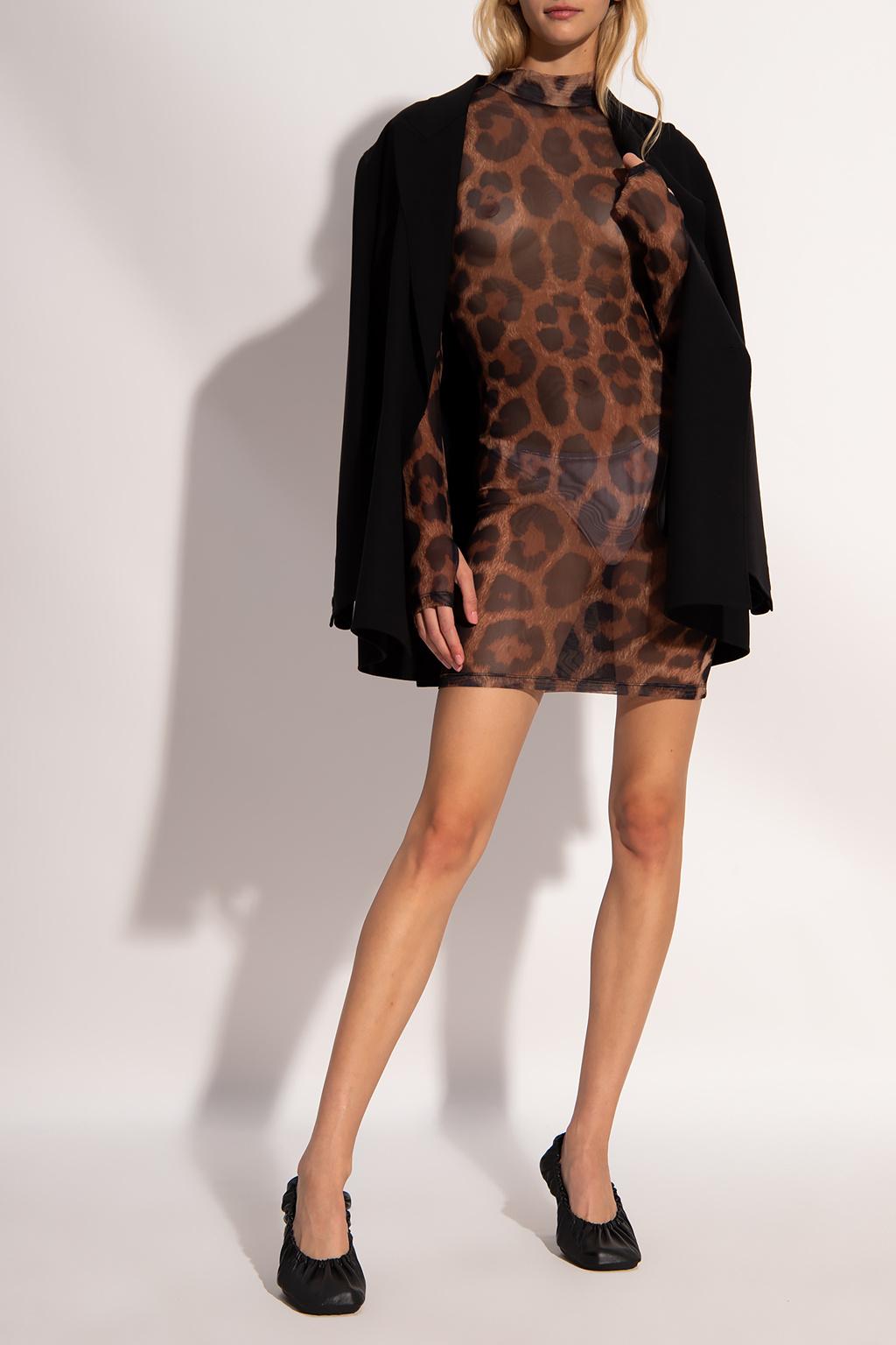 Philipp Plein Transparentna sukienka