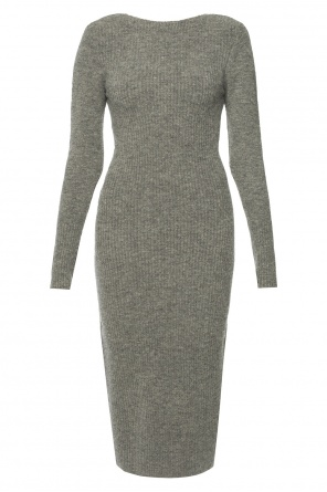 Dress with gathered collar od AllSaints