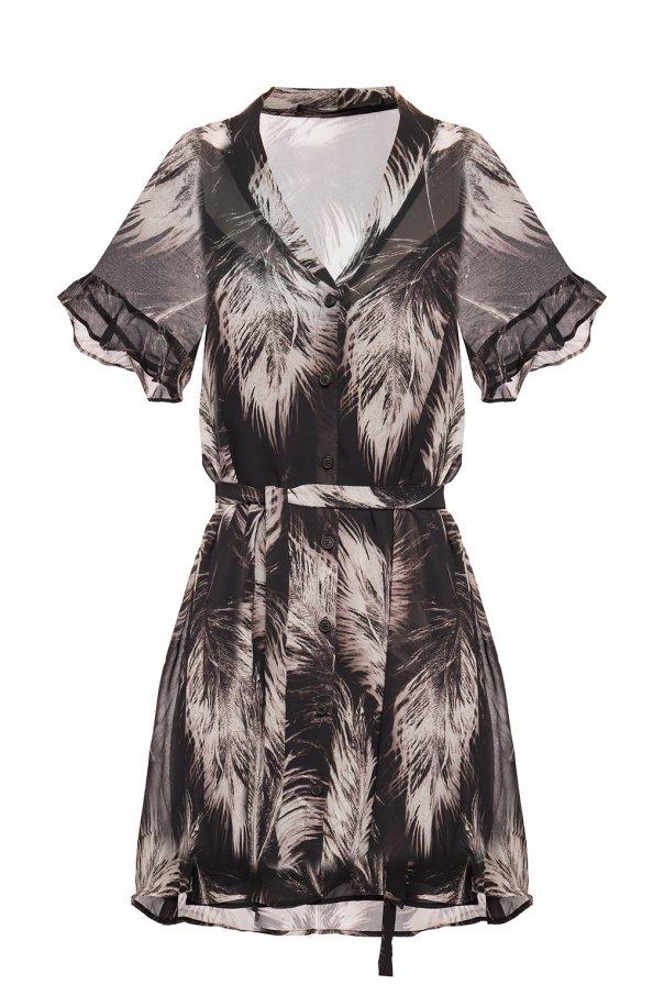promo code 97a12 fe24b Fay' dress with tie fastening AllSaints - Vitkac shop online