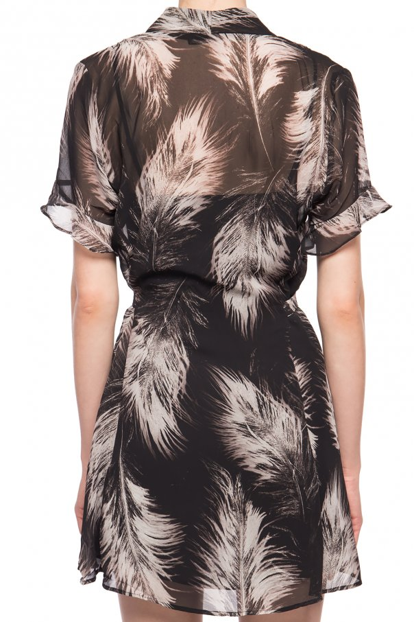 'fay' dress with tie fastening od AllSaints
