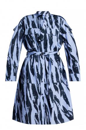 Wzorzysta sukienka od Kenzo