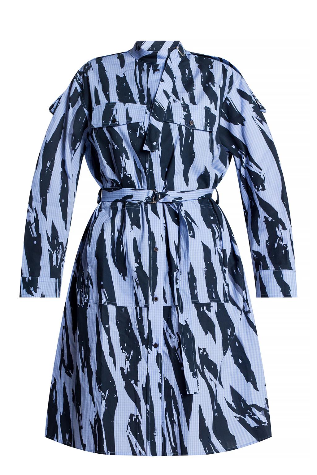 Kenzo 图案连衣裙