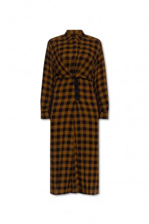 Sukienka w kratę od Kenzo