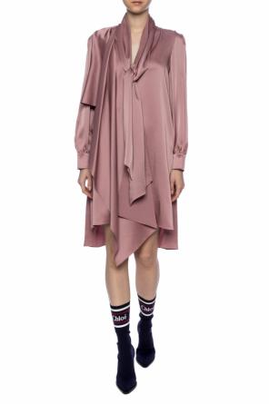 Tie-up dress od Fendi
