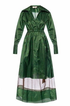 格纹连衣裙 od Fendi
