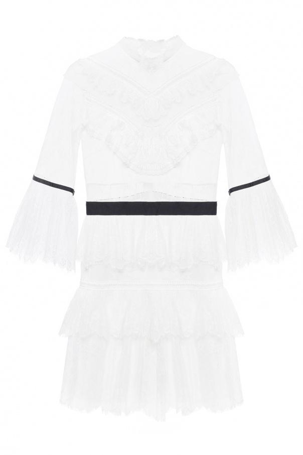 07300bdc46e6 Lace dress with ruffles Self Portrait - Vitkac shop online