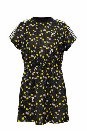 Patterned dress with logo od ADIDAS Originals