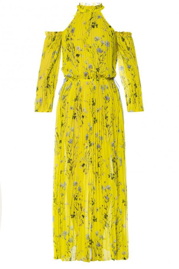 2337f8d312d Pleated dress with vents Self Portrait - Vitkac shop online