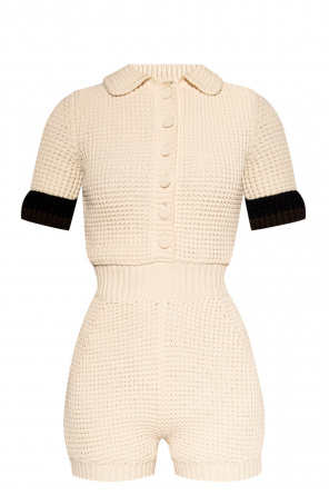 Knitted jumpsuit od Fendi