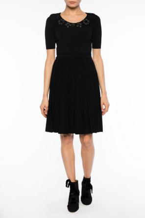 Pleated bottom dress od Fendi