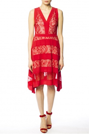 'gwen' sheer lace dress od AllSaints
