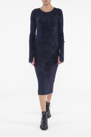 Ribbed velvet dress od Helmut Lang