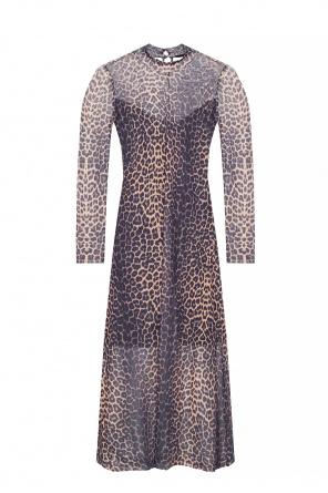 'hanna' dress with funnel neck od AllSaints
