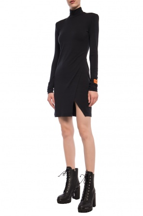 Short turtleneck dress od Heron Preston