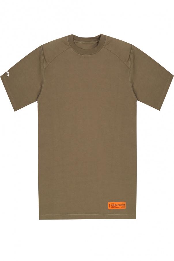Heron Preston Long T-shirt with logo