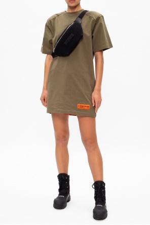Sukienka z logo od Heron Preston