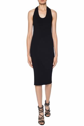 Ribbed crewneck dress od Helmut Lang