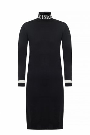 Wool dress with turtleneck sweater od Iceberg