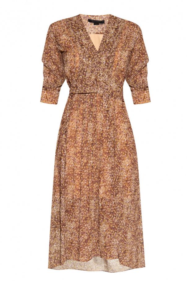 AllSaints 'Ina' patterned dress