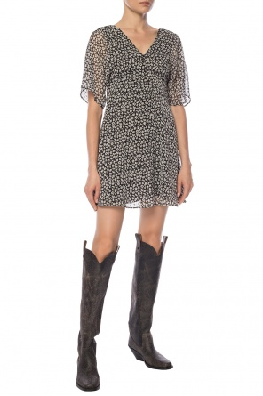 'ivey' patterned dress od AllSaints
