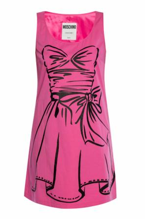 Printed dress od Moschino