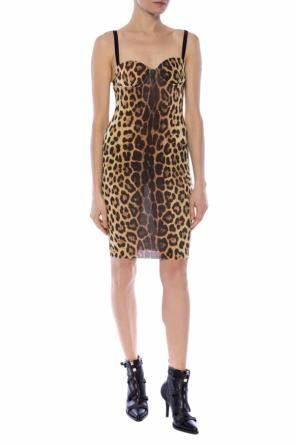 Leopard print dress od Moschino