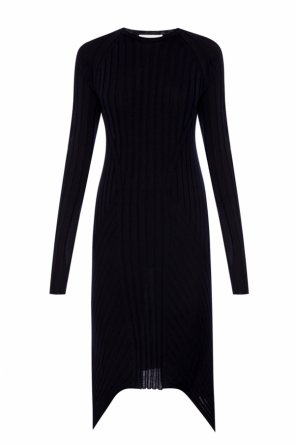 Asymmetrical wool dress od Helmut Lang