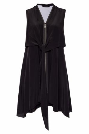 'jayda' silk dress od AllSaints