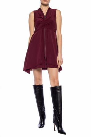 'jayda' ruffle dress od AllSaints