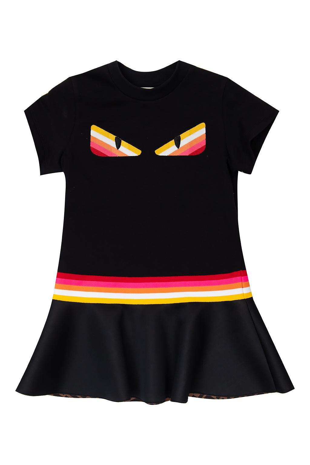 Fendi Kids Short sleeve dress