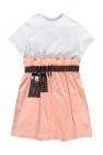 Fendi Kids Dress with logo