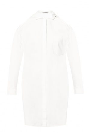 'joelle' denuded shoulders dress od AllSaints