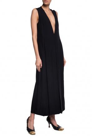 V-neck dress od JIL SANDER