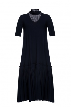 Ruffled dress od JIL SANDER