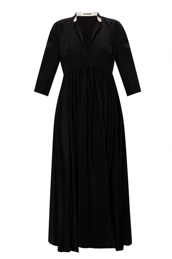 JIL SANDER Dress with deep neckline