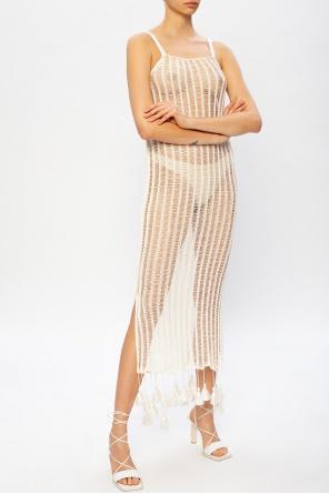 Ażurowa sukienka od JIL SANDER