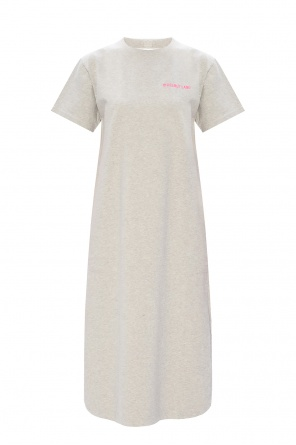Logo-embroidered dress od Helmut Lang