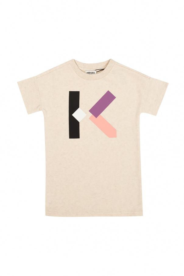 Kenzo Kids Dress with logo