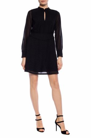 'kay' ruffle dress od AllSaints