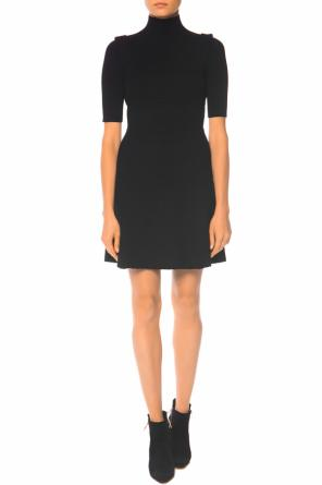 Ribbed turtleneck dress od Victoria Victoria Beckham