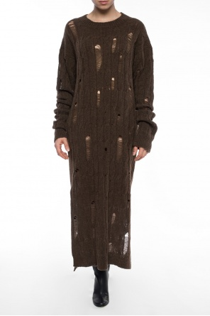 Dress with decorative holes od Damir Doma