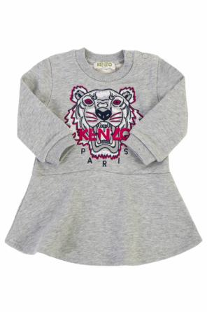 Tiger head sweatshirt dress od Kenzo Kids