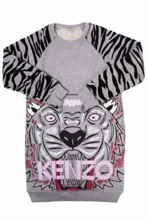 Printed sweatshirt dress od Kenzo Kids