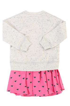 Patterned bottom dress od Kenzo Kids