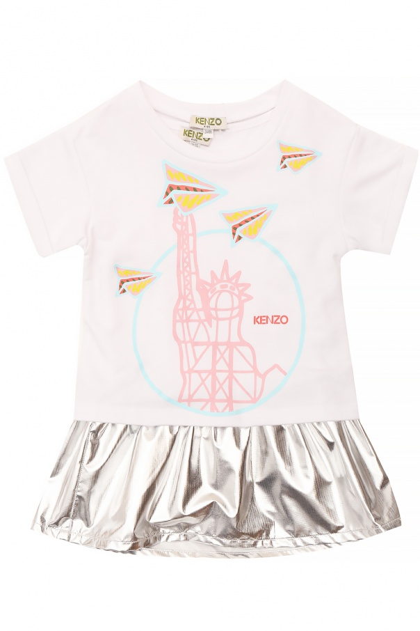 4b2504974 Printed dress Kenzo Kids - Vitkac shop online