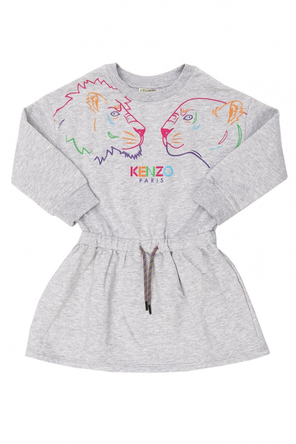 Kenzo Kids Dress with logo