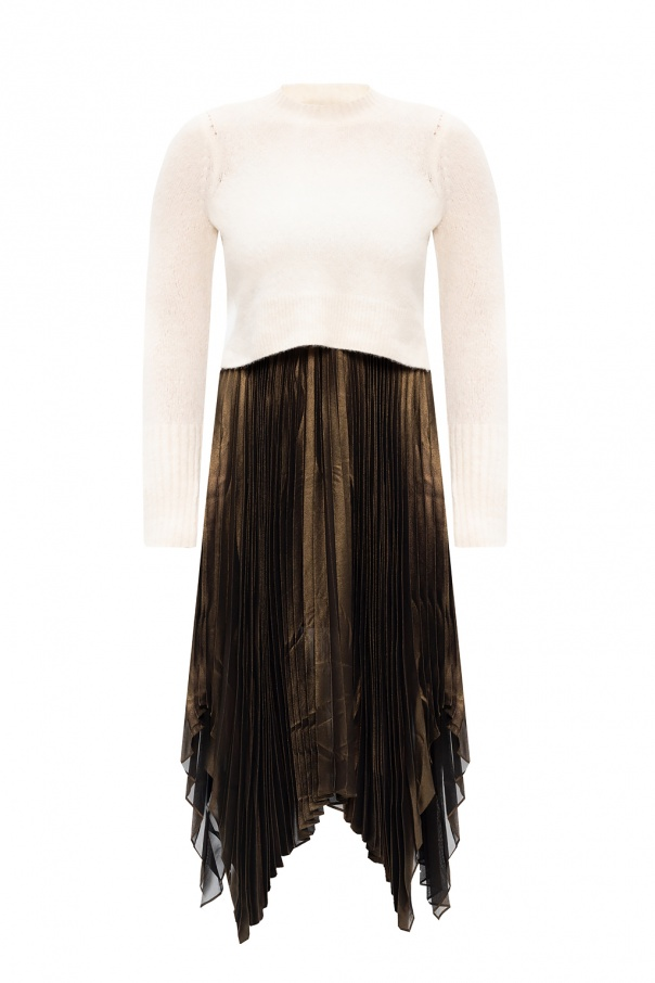 AllSaints 'Lerin' dress with sweater